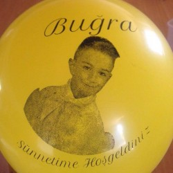 500 Adet Kişiye Özel Baskılı Balon