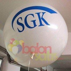 27inc Jumbo Baskılı Balon (1+1)