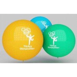 45inc Jumbo Baskılı Balon (1+1)