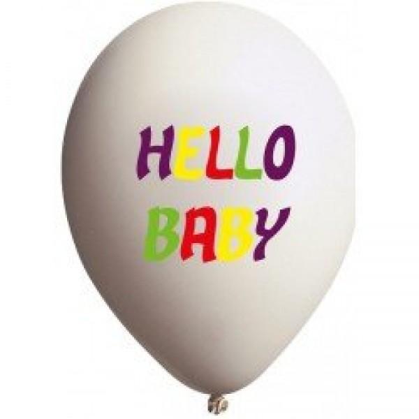 Tek Yüze Dört Renk Baskılı Balon