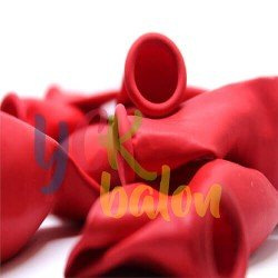 27 İnç Baskısız Kırmızı Jumbo Balon