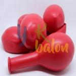 12 inç Kırmızı Dış Mekan Dekorasyon Balonu