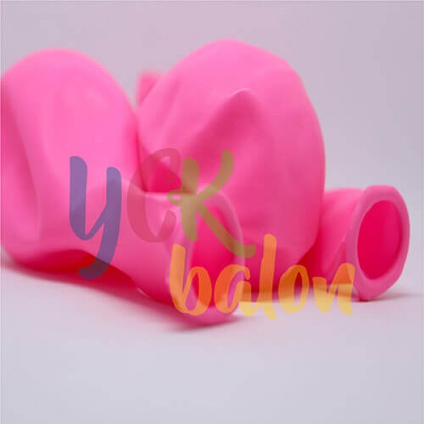 Baskısız Açık Pembe Dış Mekan Dekorasyon Balonu