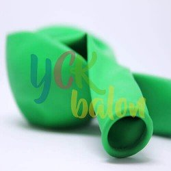Baskısız Koyu Yeşil İç Mekan Dekorasyon Balonu