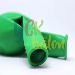 Baskısız Koyu Yeşil Dış Mekan Dekorasyon Balonu
