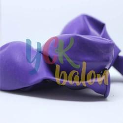 Baskısız Mor Rengi İç Mekan Dekorasyon Balonu