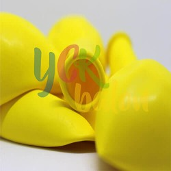 Baskısız  Sarı İç Mekan Dekorasyon Balonu