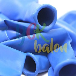 Baskısız Koyu Mavi İç Mekan Dekorasyon Balonu