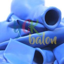 Baskısız Koyu Mavi Dış Mekan Dekorasyon Balonu