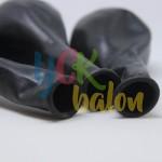 Baskısız Siyah Dış Mekan Dekorasyon Balonu