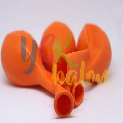 Baskısız Turuncu İç Mekan Dekorasyon Balonu