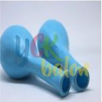 12 inç Açık Mavi Dış Mekan Dekorasyon Balonu