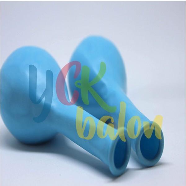 12 inç Açık Mavi İç Mekan Dekorasyon Balonu