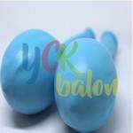 Baskısız Açık Mavi Dış Mekan Dekorasyon Balonu