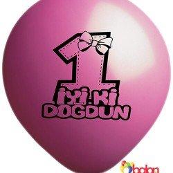 1 Yaş Balonu (Kız)