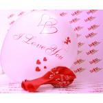 I Love You Baskılı Balon