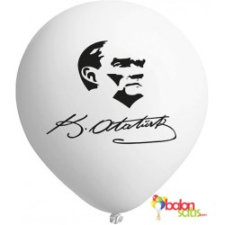 Kemal Atatürk Baskılı Balon 02