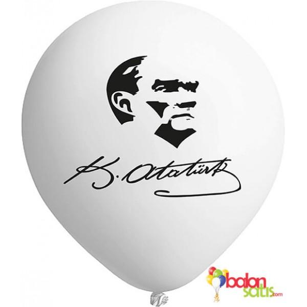 Kemal Atatürk Baskılı Balon