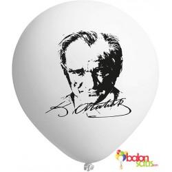 Kemal Atatürk Baskılı Balon 04