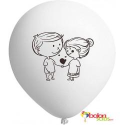 Sevgi Temalı Balonlar