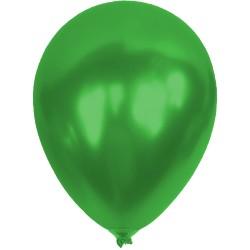 Baskısız Açık Yeşil Metalik  Dekorasyon Balonu
