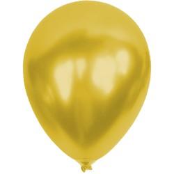 Baskısız Gold Metalik  Dekorasyon Balonu