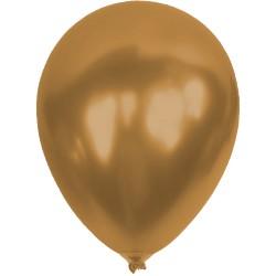 Baskısız Kahverengi Metalik Dekorasyon Balonu