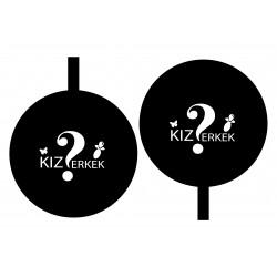 27inch Cinsiyet Balonu (Türkçe)