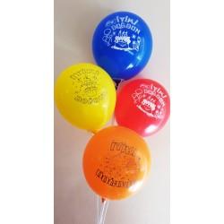 100 Adet İyiki Doğdun Hazır Baskılı Balon