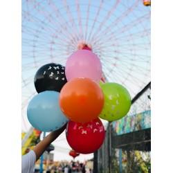100 Adet Kelebek Hazır Baskılı Balon